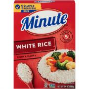 Minute Rice Instant White Rice