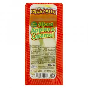 Dippin' Stix Sliced Apples With Caramel