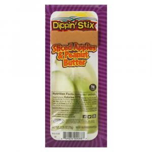 Dippin' Stix Sliced Apples W/peanut Butter