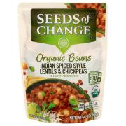 Seeds of Change Organic Indian Lentils & Chickpeas