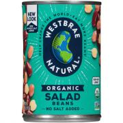 Westbrae Organic Low Sodium Salad Beans