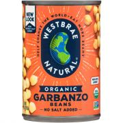 Westbrae Organic Low Sodium Garbanzo Beans