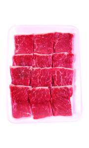 USDA Choice Beef Bottom Round Steak Thin Sliced Family Pack