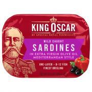 King Oscar Mediterranean Sardines