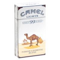 Camel 99's Blue Box Cigarettes