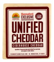 Vermont Farmstead Unified Press Ciderhouse Cheddar