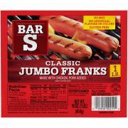 Bar S Jumbo Franks