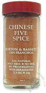 Morton & Bassett Chinese Five Spice