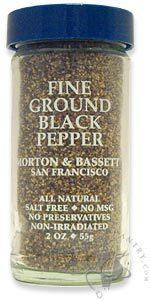 Morton & Bassett Fine Ground Black Pepper