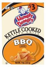 Humpty Dumpty BBQ Kettle Potato Chips