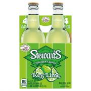 Stewart's Key Lime with Real Sugar Soda