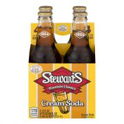 Stewart's Cream Soda with Real Sugar