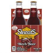 Stewart's Birch Beer with Real Sugar Soda