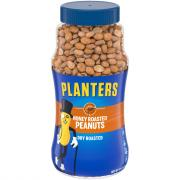 Planters Dry Roasted Honey Peanuts