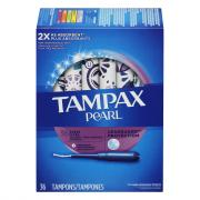 Tampax Pearl Plastic Ultra Unscented Tampons
