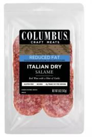 Columbus Reduced Fat Salame