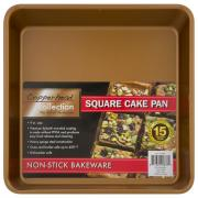 Cooperhead Collection Square Cake Pan 9 Inch