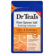 Dr Teal's Pure Epsom Salt Soaking Solution Glow & Radiance