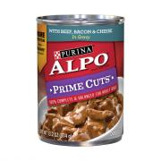 Alpo Prime Cuts Beef, Bacon & Cheese
