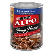 Alpo Chop House w/Gravy T-Bone Steak