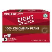 Eight O'Clock 100% Columbian K-Cups