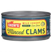 Snow's Minced Clams