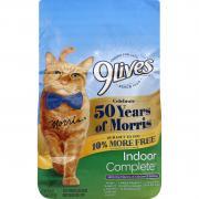 9Lives Indoor Complete Cat Food