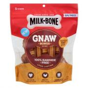 Milk-Bone Gnaw With Real Peanut Butter SM Med Dog Treats