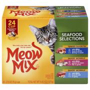 Meow Mix Seafood Variety Pack