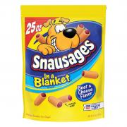 Snausages in a Blanket Beef & Cheese Flavor