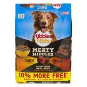 Kibbles 'n Bits Meaty Middles Prime Rib Bonus Dry Dog Food