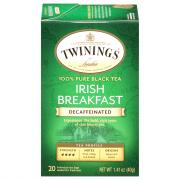 Twinings Irish Breakfast Decafinated Tea