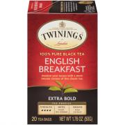 Twinings Extra Bold English Breakfast Tea Bags