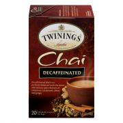 Twinings Decaf Chai Tea Bags