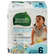 Seventh Generation Baby Diapers Stage 6 (35+ lbs.)