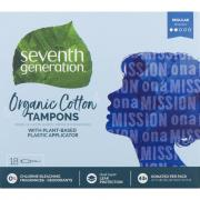 Seventh Generation Free & Clear Regular Tampons
