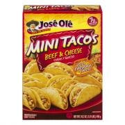 Jose Ole Beef & Cheese Mini Tacos