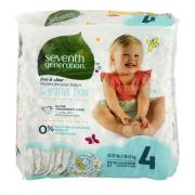 Seventh Generation Baby Diapers Stage 4 (22-37 lbs.)