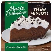 Marie Callender's Chocolate Satin Cream Pie