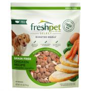 Freshpet Select Grain Free Roasted Chicken Meal for Dogs