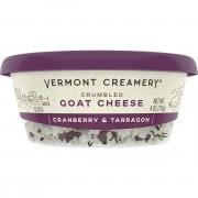 Vermont Creamery Cranberry & Tarragon Crumbled Goat Cheese