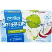 Capri Sun Fruit Refresher Awesome Apple