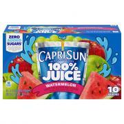 Capri Sun Watermelon 100% Juice Blend
