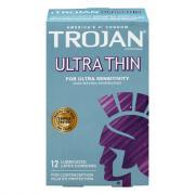 Trojan Very Thin Lubricated Condoms