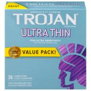 Trojan Sensitivity Ultra Thin Condoms