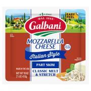 Galbani Part Skim All Natural Mozzarella Cheese Block