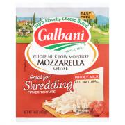 Galbani Whole Milk Low Moisture Mozzarella Cheese Block