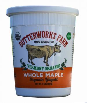 Butterworks Farm Maple Yogurt