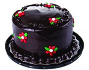 "5"" Chocolate Ganache Raspberry Filled Cake"