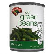 Hannaford Cut Green Beans